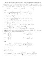 Một số bài toán cực trị điện xoay chiều khó có lời giải