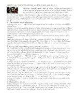 12 ĐIỀU NGẠC NHIÊN VỀ GIÁO DỤC MẦM NON NHẬT BẢN - PHẦN 1