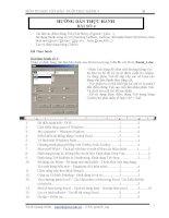 Bài tập thực hành tin học căn bản 4