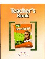 Career paths  secretarial (teacher book)