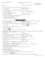 Đề thi HKII Tin Học 10 Đề số 3