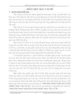 SKKN: phương pháp giải bài tập nhiệt học vật lý 8
