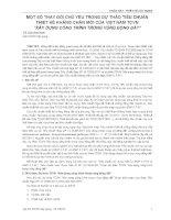 """Một Số Thay Đổi Chủ Yếu Trong Dự Thảo Tiêu Chuẩn Thiết Kế Kháng Chấn Mới Của Việt Nam TCVN """"Xây Dựng Công Trình Trong Vùng Động Đất"""""""