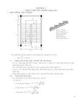Chương 4 TÍnh toán cầu thang (dạng cốn)