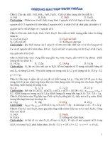 Cách tính nhầm và một số bài tập tính nhẫm trong hóa học