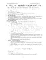 BÀI GIẢNG THỰC HÀNH LÂM SÀNG KHOA TIÊU HÓA - ĐẶC ĐIỂM GIẢi PHẪU SINH LÝ BỘ MÁY TIÊU HÓA TRẺ EM