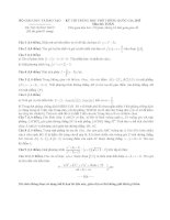 Đề thi THPT Quốc Gia môn toán 2015 - 2016(có đáp án)
