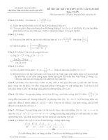 tổng hợp đề thi thử thpt quốc gia năm 2015 môn toán