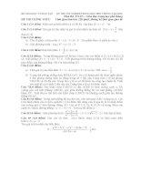 hướng dẫn giải đề thi thpt quốc gia môn toán