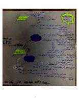 Ôn tập văn học lớp 12 theo ghi chép bản đồ tư duy