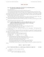 TÀI LIỆU ÔN THI TN (MÔN ĐỊA 12 CỦA BỘ GD-ĐT)