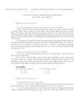 Tổng hợp đề thi đại học môn ngữ văn 2002 2014 có đáp án