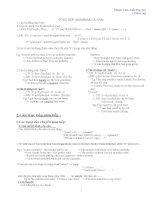 Tổng hợp kiến thức tiếng Anh bậc THCS