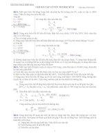 Giải bài tập Vật lý 9 ôn thi HKII