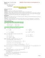 Đề cương ôn tập học kỳ 1 toán 10