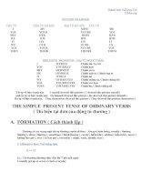 Ngữ pháp và bài tập nâng cao tiếng Anh 8