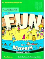 FUN FOR MOVERS STUDENTS''''''''BOOK