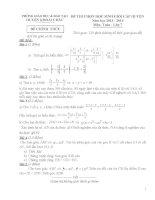 Đề thi học sinh giỏi huyện Khoái Châu môn toán 7 năm học 2013 - 2014 (có đáp án)