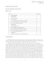 Những bài văn mẫu lớp 6