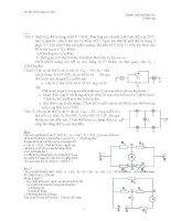 Bài tập nâng cao Vật lý 9