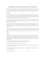 Văn khấn gia tiên ngày rằm tháng tám (tết trung thu)