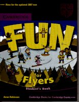 FUN FOR FLYERS- STUDENTS'''''''' BOOK