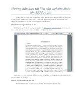 Hướng dẫn đưa tài liệu của website tài liệu khác lên 123doc