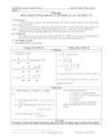 giáo án dạy thêm toán lớp 7