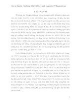 VAI TRÒ CỦA GIÁO VIÊN CHỦ NHIỆM GIÚP NÂNG CAO HIỆU QUẢ GIÁO DỤC ĐẠO ĐỨC CHO HỌC SINH  TRONG TRƯỜNG PHỔ THÔNG