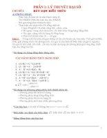 KT cơ bản(VDAD)+Nâng cao+Bộ đề tổng hợp ôn thi vào 10(Hot-hot)