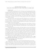 SÁNG KIẾN KINH NGHIỆM PHƯƠNG PHÁP DẠY HỌC PHÁT HUY TÍNH TÍCH CỰC TẬP LUYỆN TDTT CỦA HỌC SINH