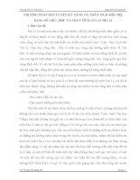 SÁNG KIẾN KINH NGHIỆM PHƯƠNG PHÁP RÈN LUYỆN KỸ NĂNG VẼ, PHÂN TÍCH BIỂU ĐỒ,  BẢNG SỐ LIỆU, ĐỌC VÀ PHÂN TÍCH ATLAT ĐỊA LÍ