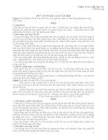 Tuyển tập đề bài và bài văn Nghị luận xã hội