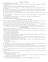 Đề cương ôn tập HK2 Lý 11 (Quang hình học)