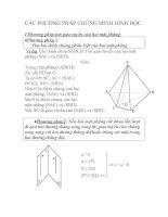 Các phương pháp chứng minh hình học