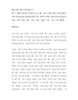 Bài viết văn số 5 lớp 9