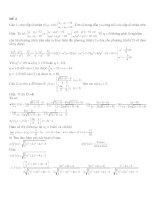 đề thi học kì 2 lớp 11 - có lời giải chi tiết