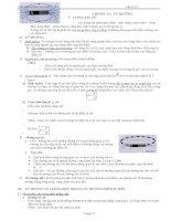 Lí thuyết và bài tập Vật lí 11NC học kì 2