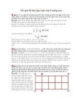 Hường Dẫn giải 50 Bài tập toán lớp 5 nâng cao