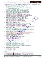 Ôn thi đại học vật lý 12 chương dao động cơ phầnphương trình dao động pha và trạng thái dao động