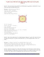 Tuyển chọn 405 bài toán bồi dưỡng HSG lớp 5 ( có lời giải) phần 2