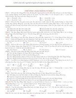 trắc nghiệm luyện thi đại học môn vật lý (1000 câu)