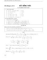Ôn thi đại học môn toán   chuyên đề bất đẳng thức