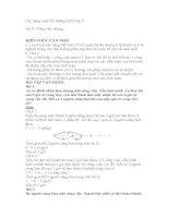 Chuyên đề Toán công việc bồi dưỡng học sinh giỏi Toán 5