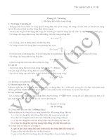 100 câu trắc nghiệm 11NC học kì 2