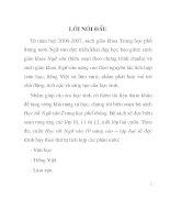 ĐỂ HỌC TỐT NGỮ VĂN LỚP 10- NÂNG CAO-PHẦN II