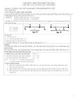 Vật lý 11. Trắc nghiêm tổng hợp chương 1