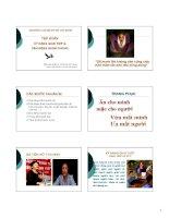 Bài giảng tập huấn kỹ năng giao tiếp  vận động quần chúng   ths  đinh thị thu trang