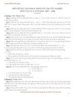 Bài tập trắc nghiệp tham khảo luyện thi đại học cao đẳng môn vật lý (12)