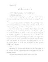 Tài liệu thi công chức xã, Chuyên đề KỸ NĂNG THUYẾT TRÌNH